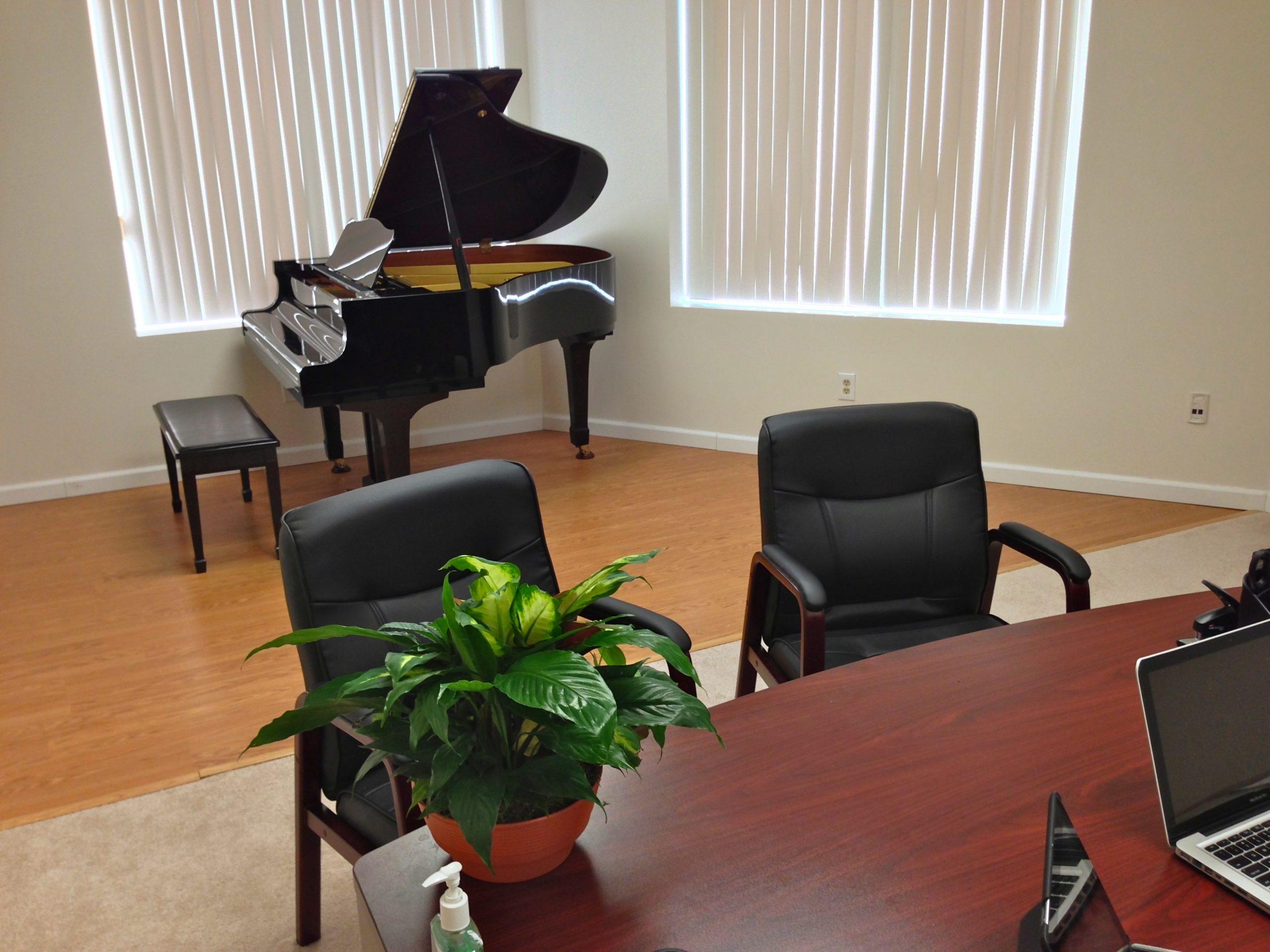 Piano & Rehearsal Studio with Grand Piano